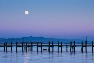 Moonrise San Pablo Bay